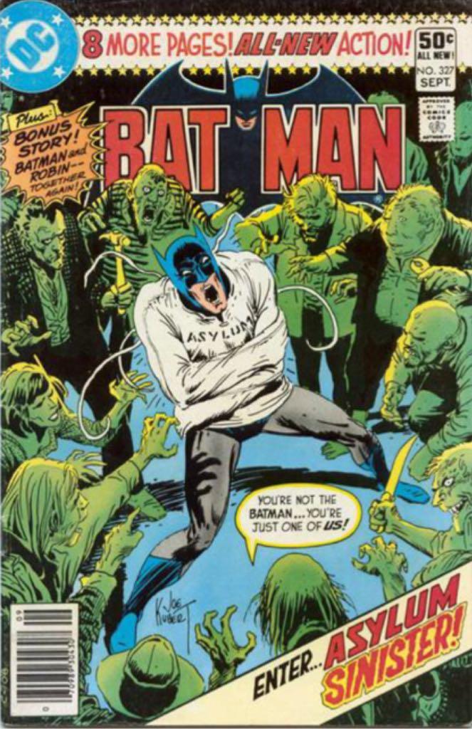Batman - 327 cover