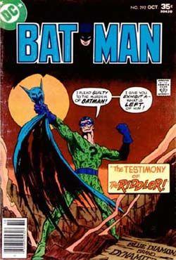 Batman - 292 cover