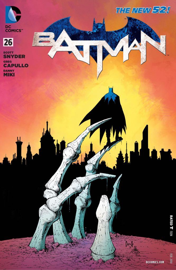 Batman - 26 cover
