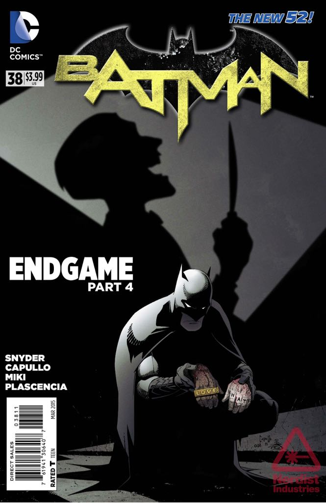 Batman - 38 cover