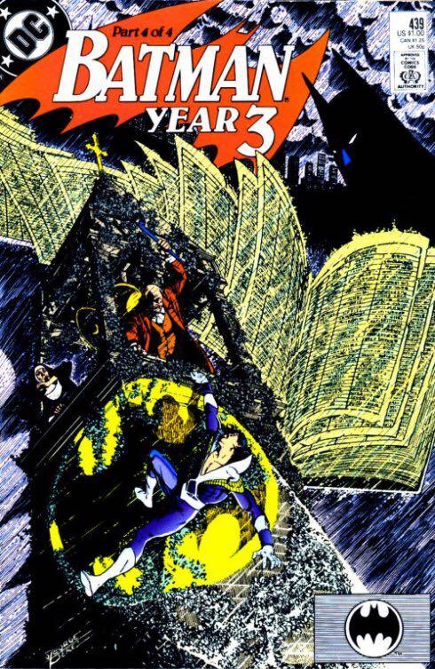 Batman - 439 cover