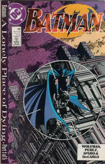 Batman - 440 cover