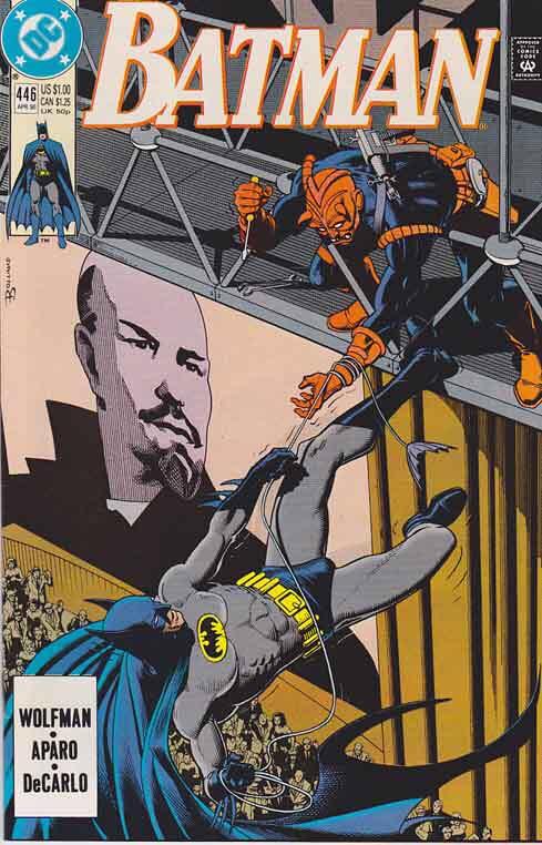 Batman - 446 cover