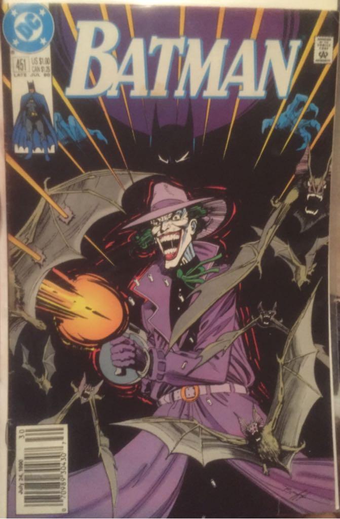 Batman - 451 cover