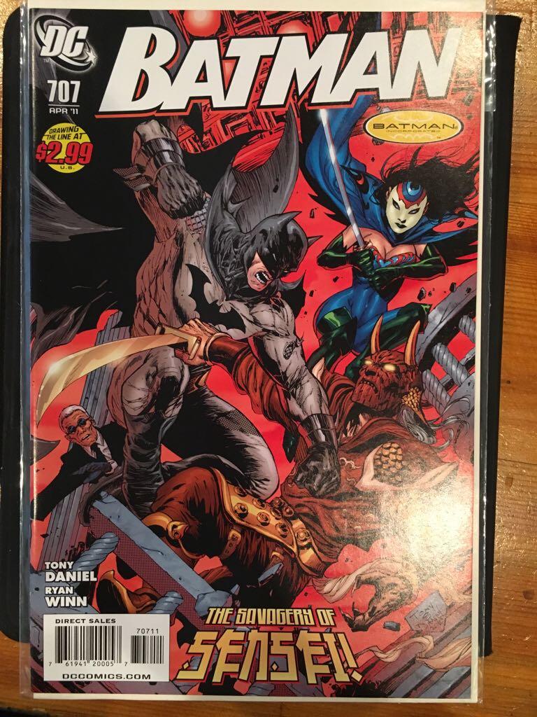 Batman - 707 cover