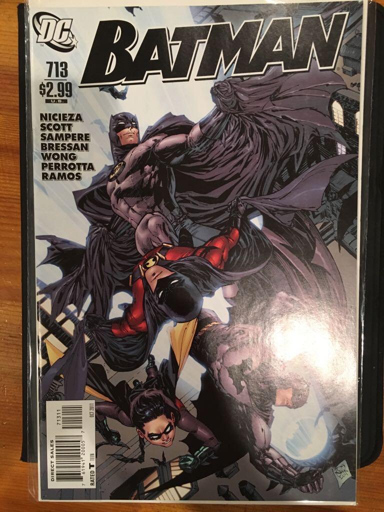 Batman - 713 cover