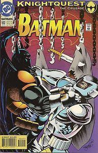 Batman - 502 cover
