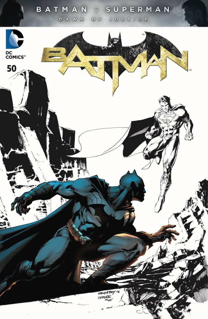 Batman - 50 cover