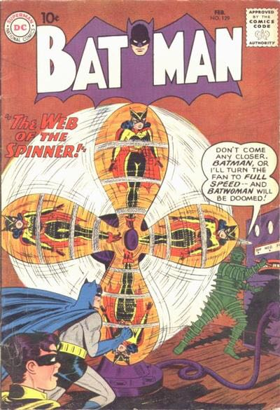 Batman - 129 cover