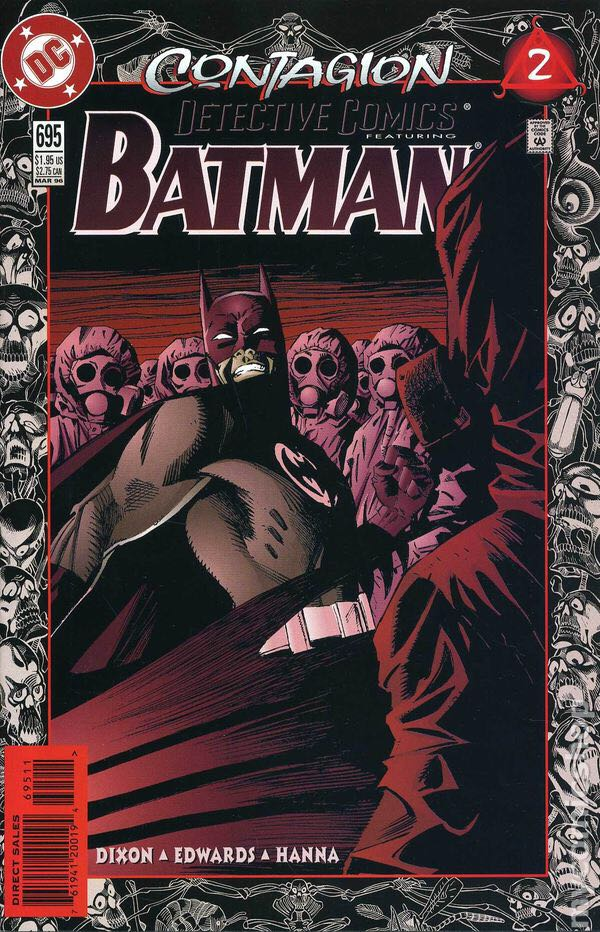 Batman - 695 cover