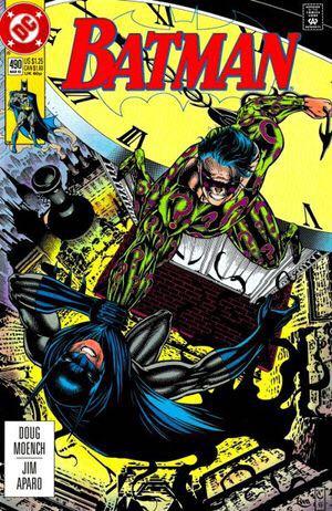 Batman - 490 cover