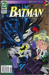 Batman - 496 cover