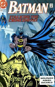 Batman - 444 cover
