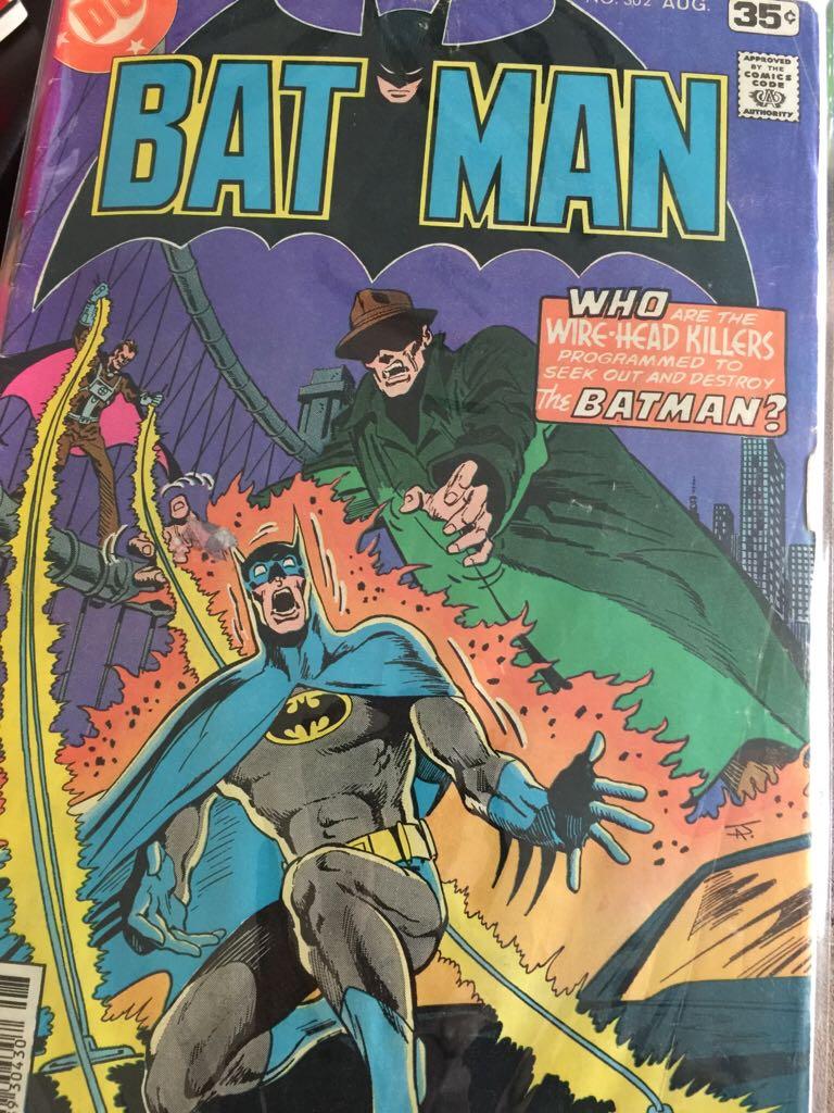Batman - 302 cover