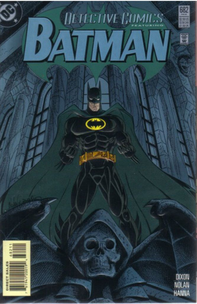 Batman - 682 cover