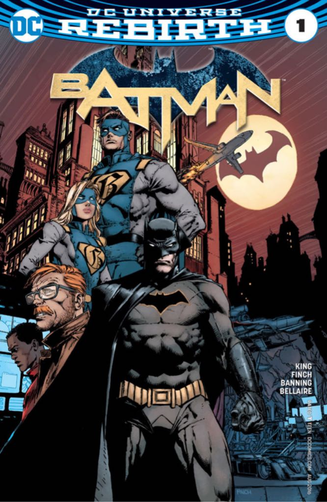 Batman (2016-) - 1 cover
