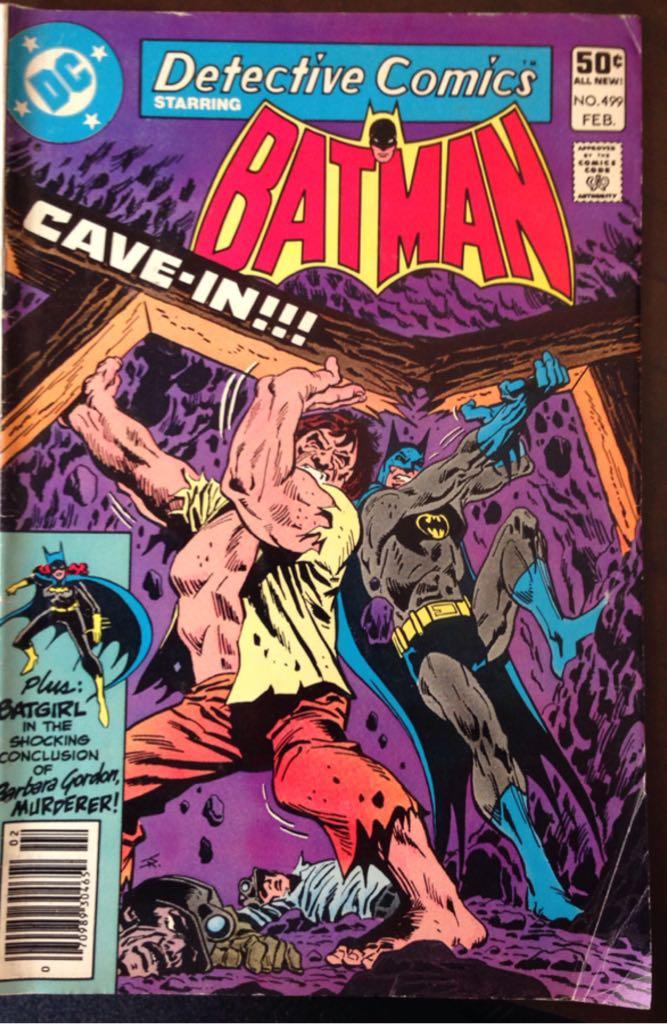 Batman - 499 cover