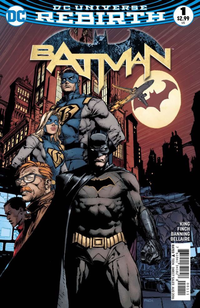 Batman - 1 cover