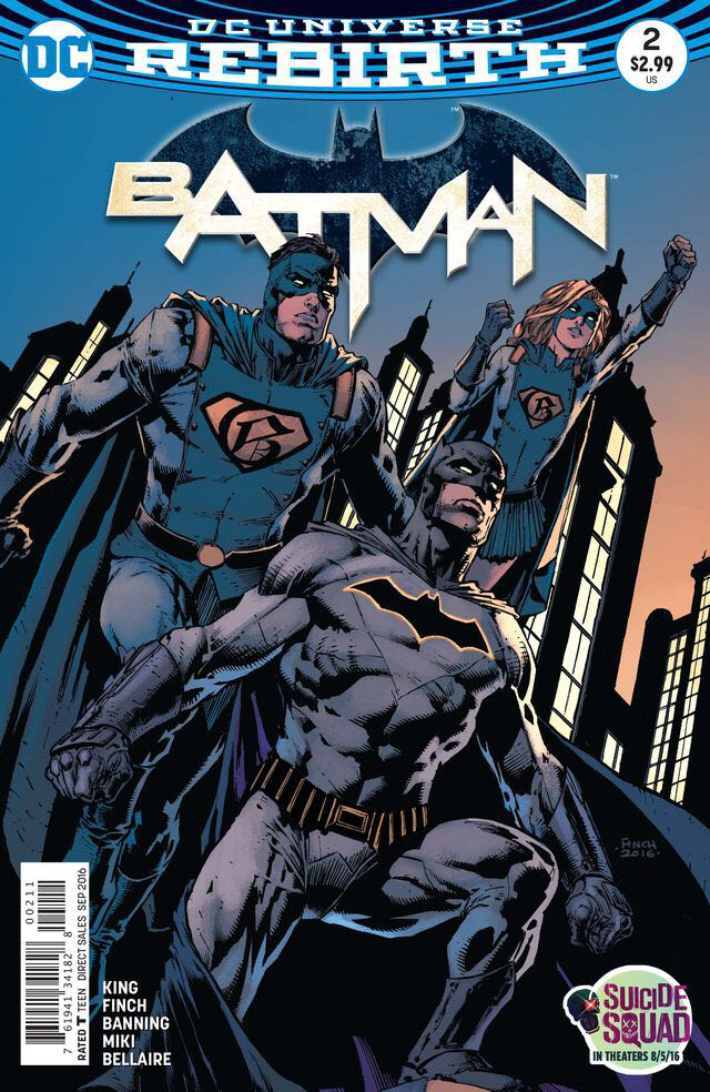 Batman - 2 cover
