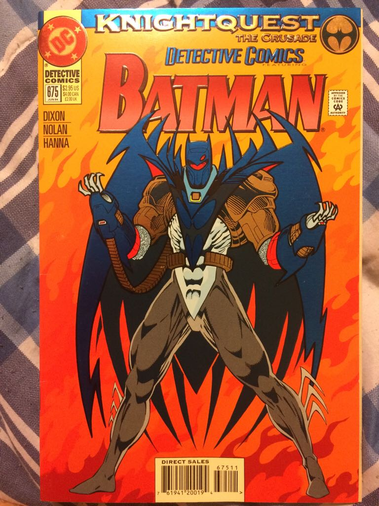 Batman - 675 cover