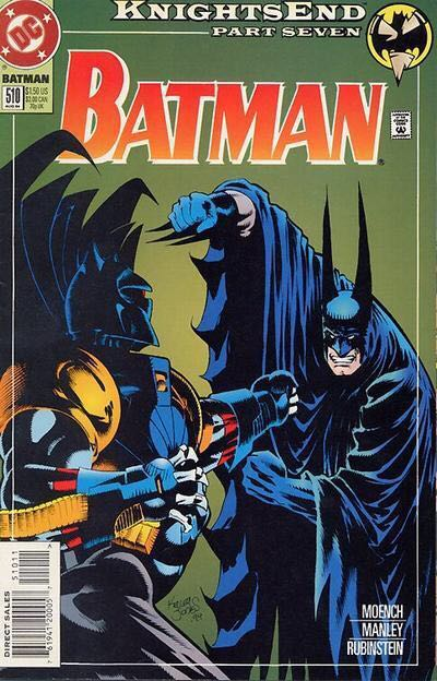 Batman - 510 cover