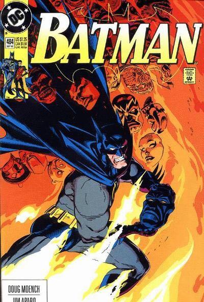 Batman - 484 cover