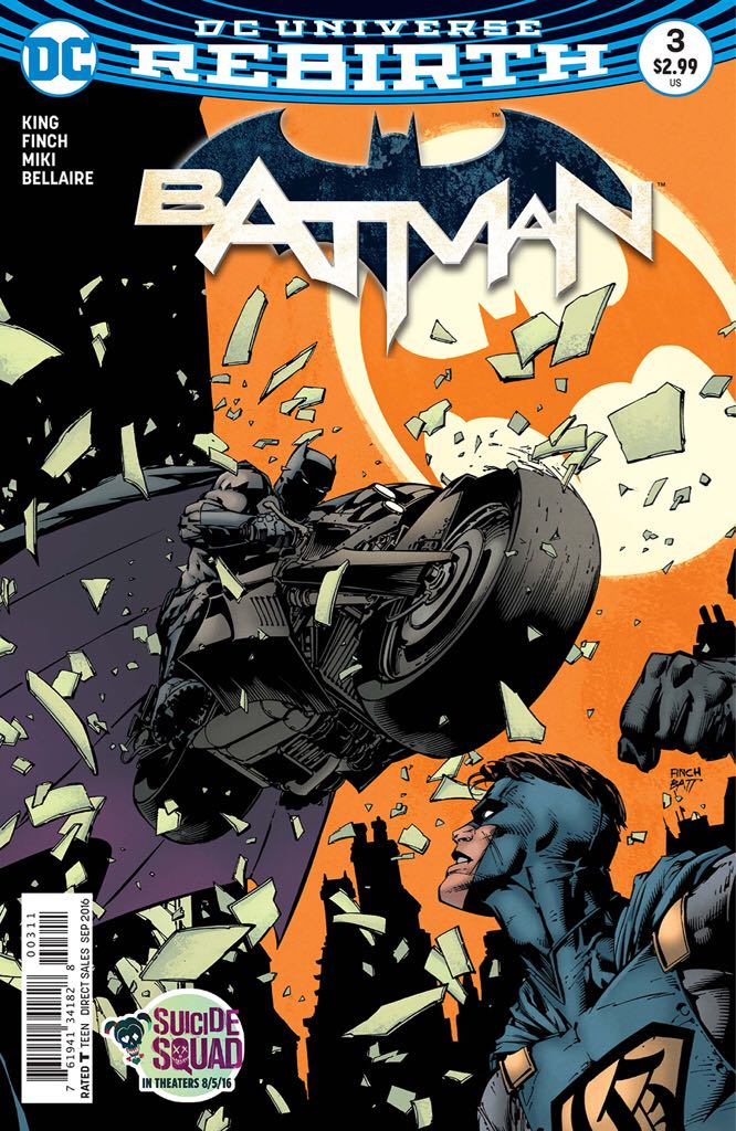 Batman - 3 cover