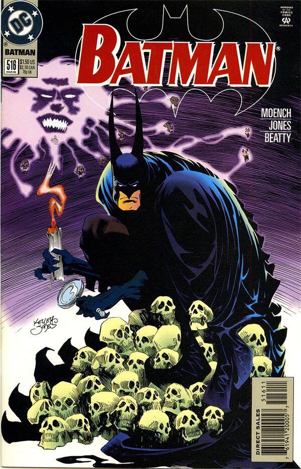 Batman - 516 cover