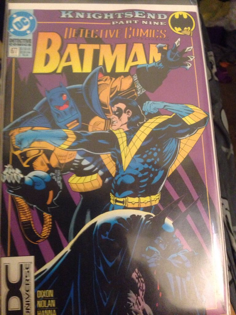 Batman - 677 cover