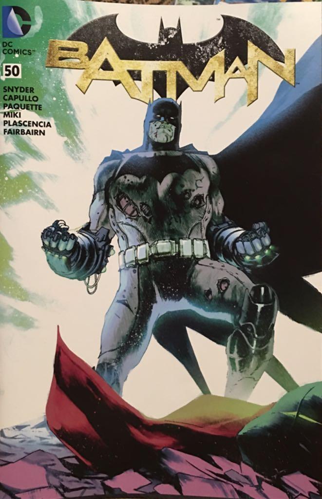 Batman - 50 cover