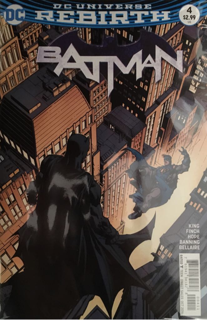 Batman - 4 cover