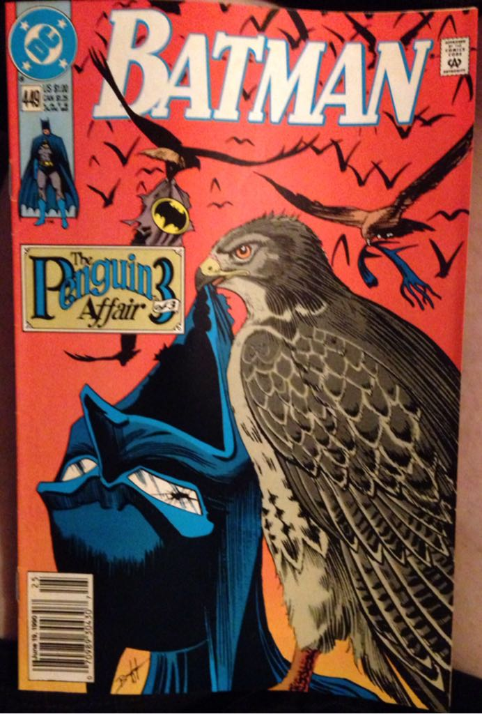 Batman - 449 cover