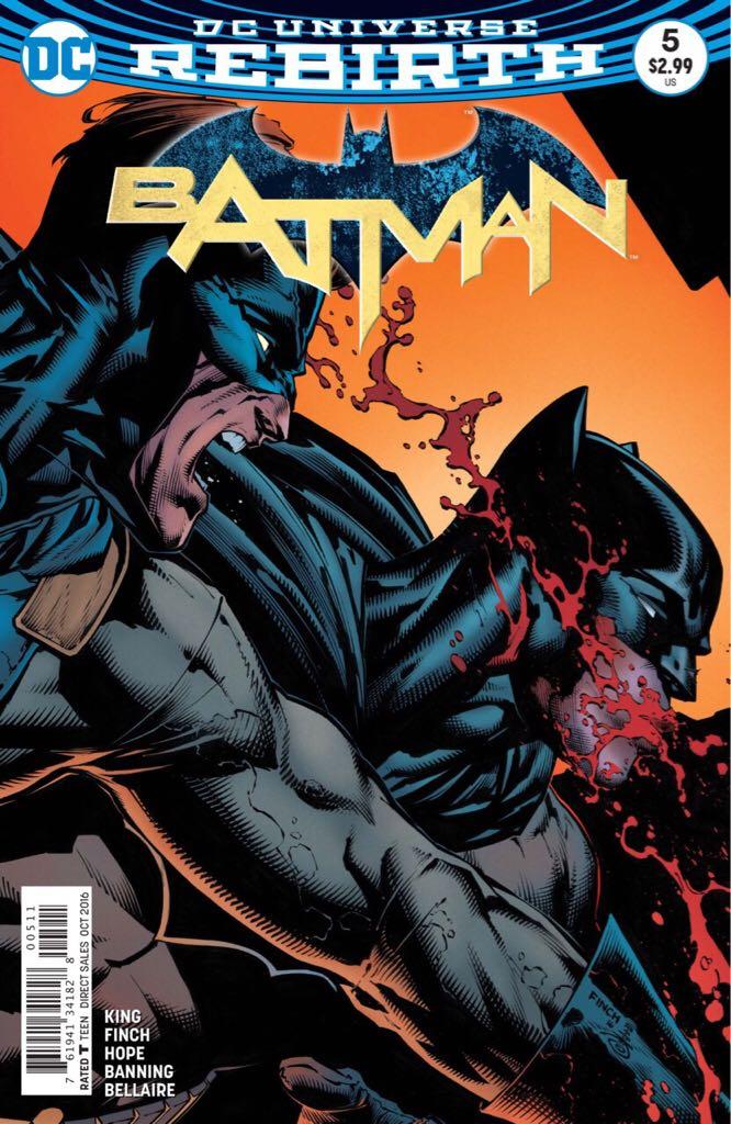 Batman - 5 cover
