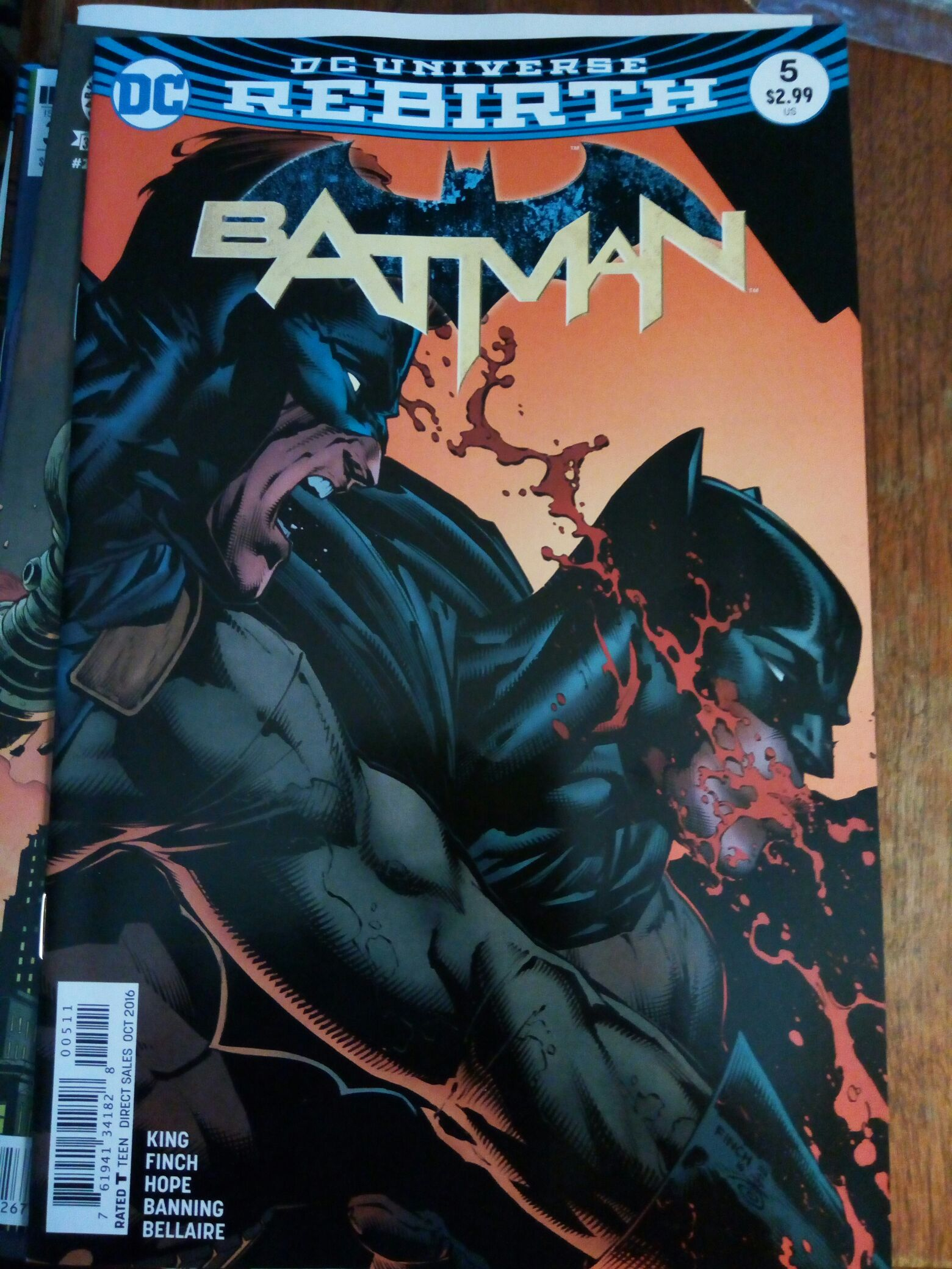 Batman - 58 cover
