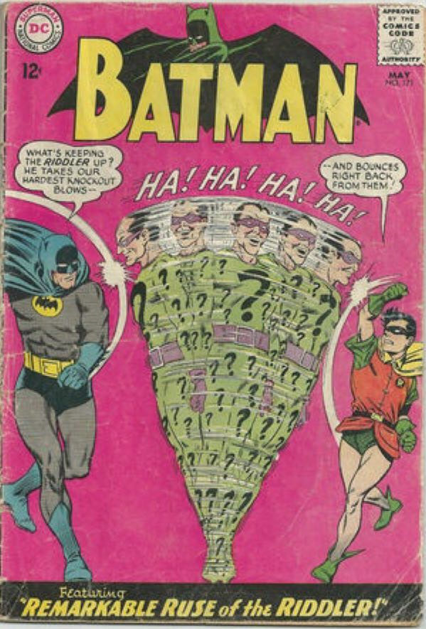 Batman - 171 cover