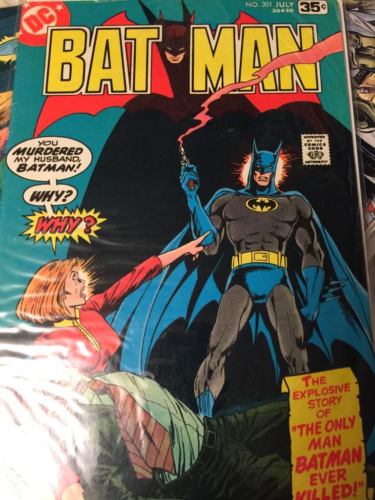 Batman - 301 cover