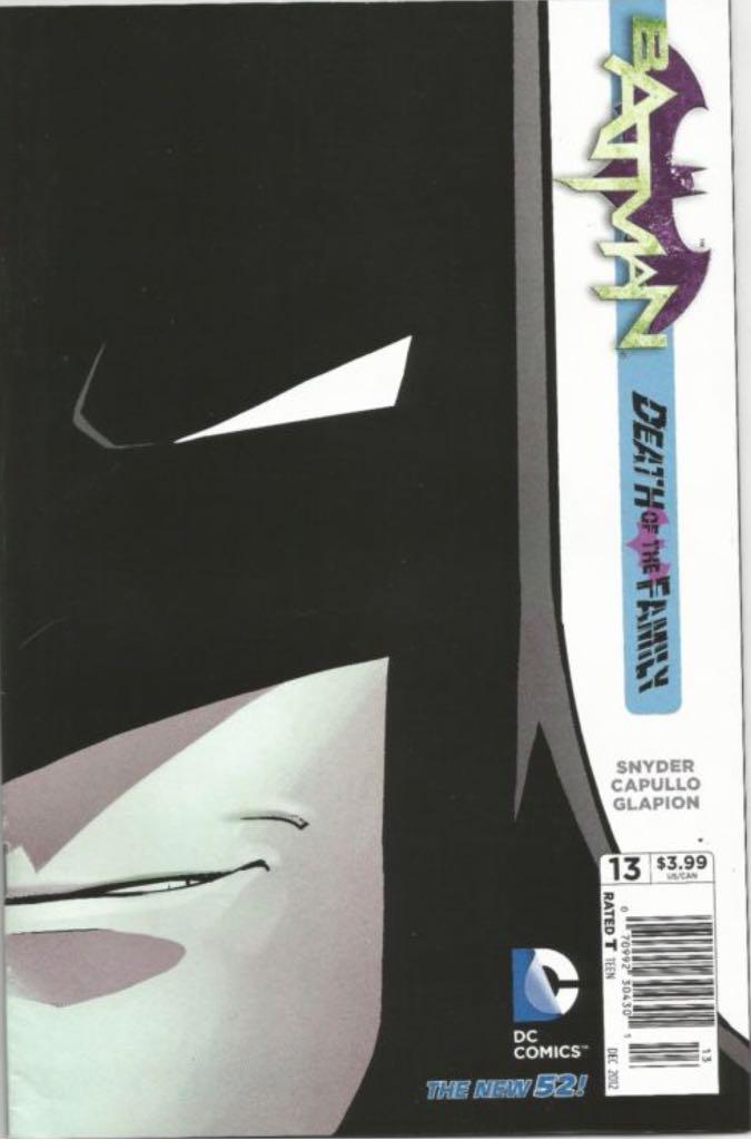 Batman - 13 cover