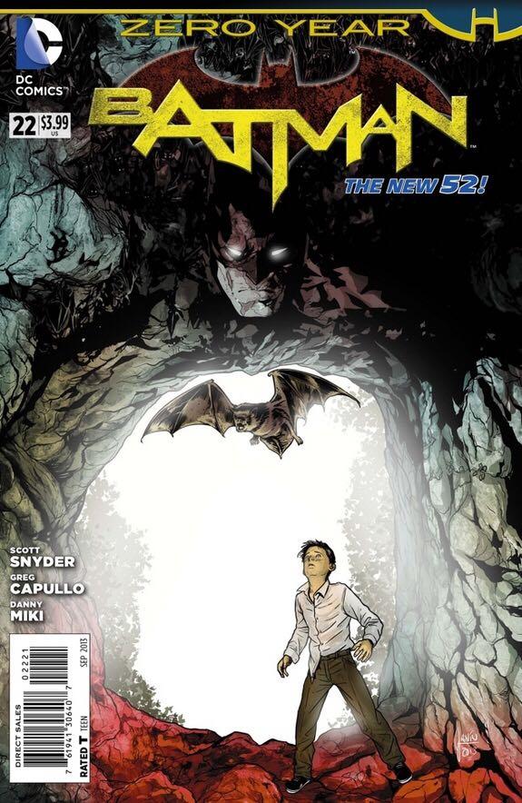 Batman - 22 cover