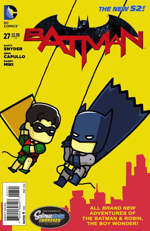 Batman - 27 cover