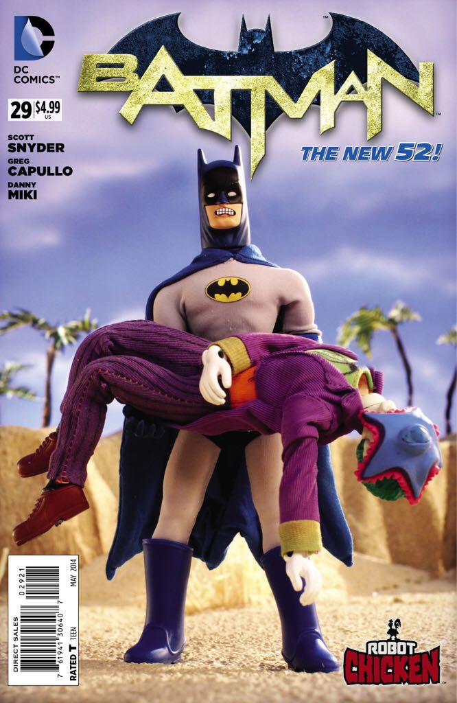 Batman - 29 cover
