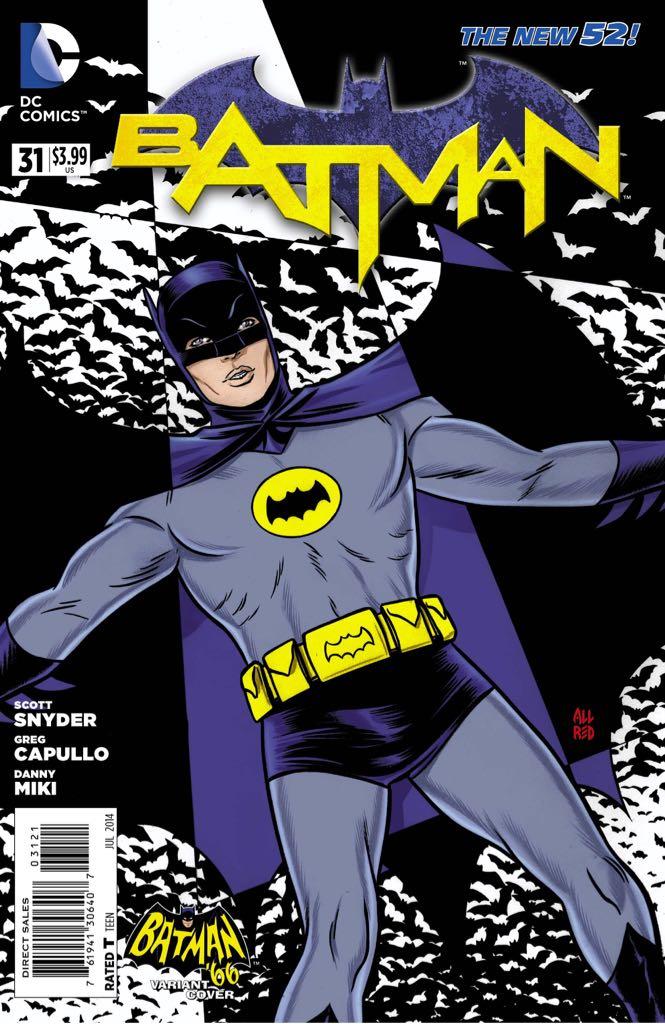 Batman - 31 cover