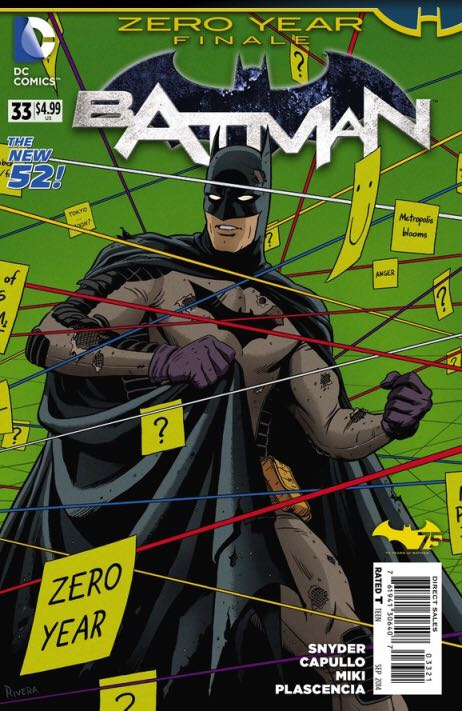 Batman - 33 cover