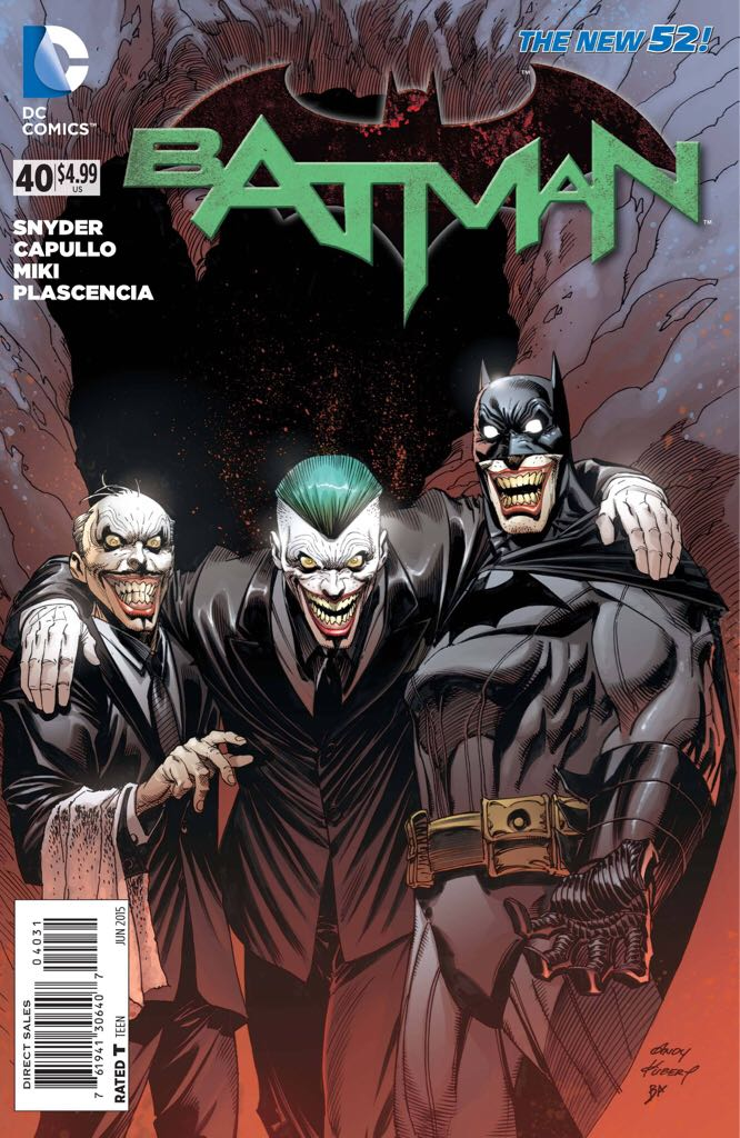 Batman - 40 cover