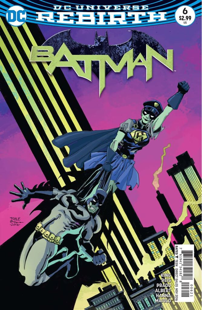Batman - 6 cover