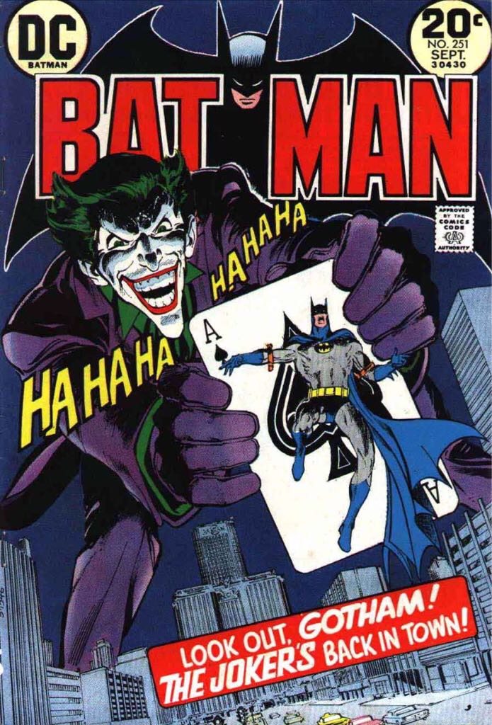 Batman - 251 cover