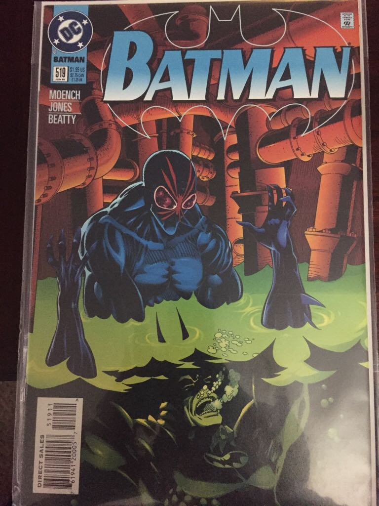 Batman - 519 cover