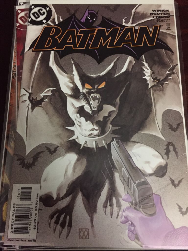 Batman - 626 cover