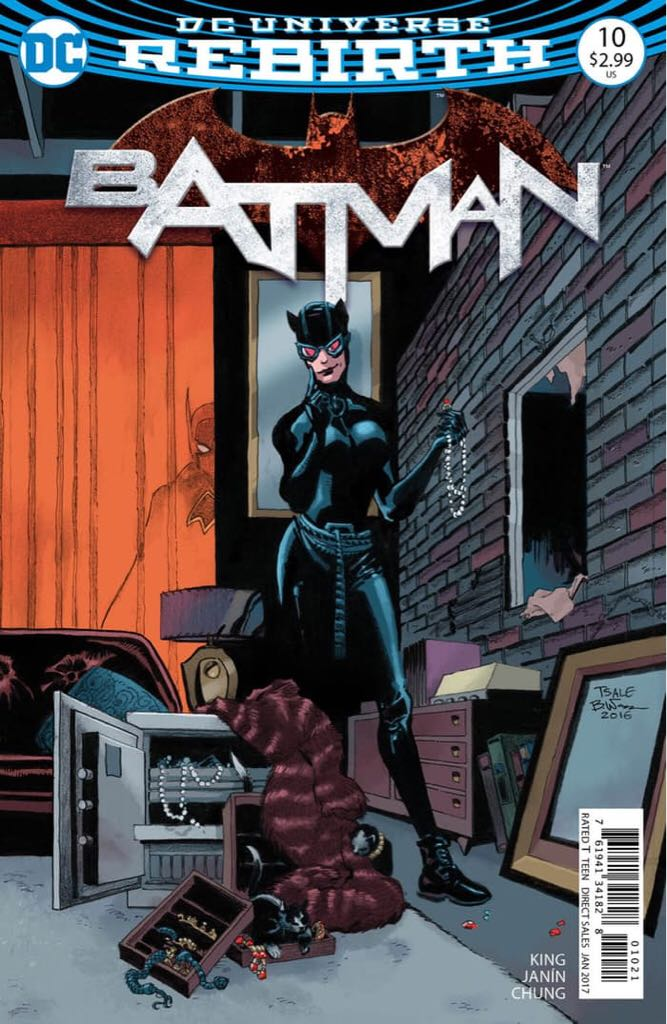 Batman - 10 cover
