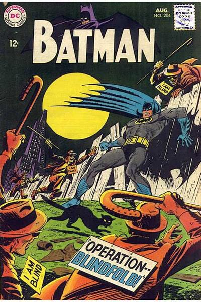 Batman - 204 cover
