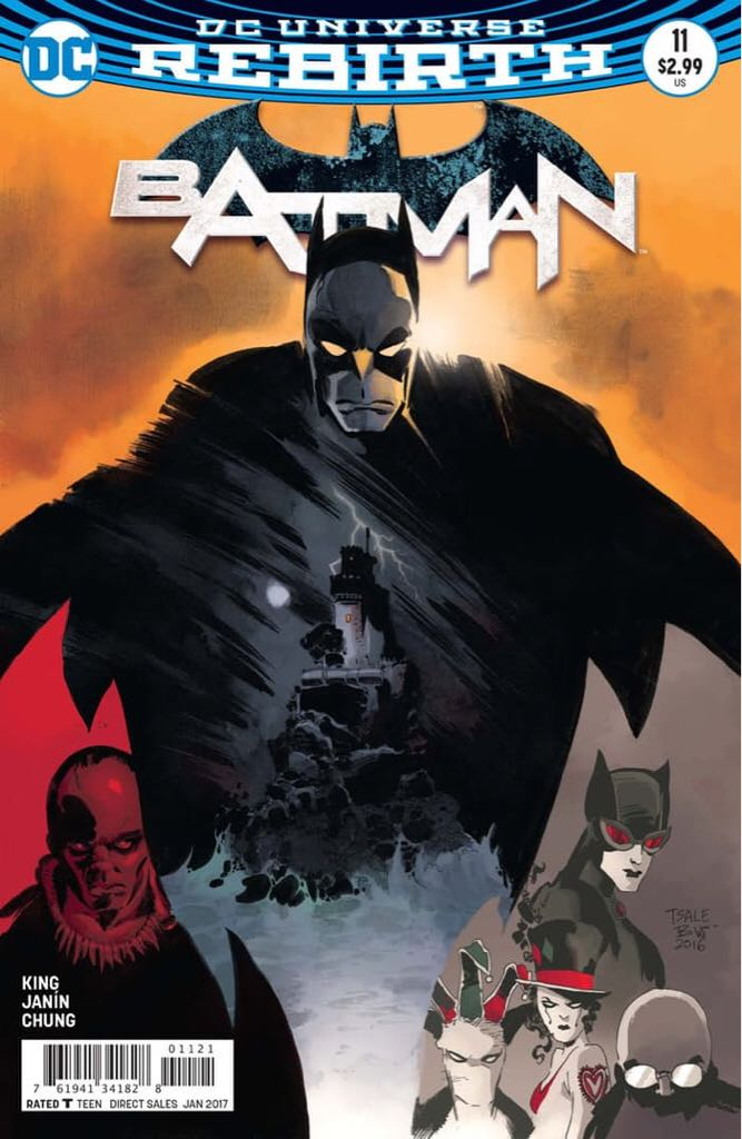 Batman - 11 cover